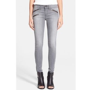 Rag & Bone Grey Zip Jean BUXTOM 27 4
